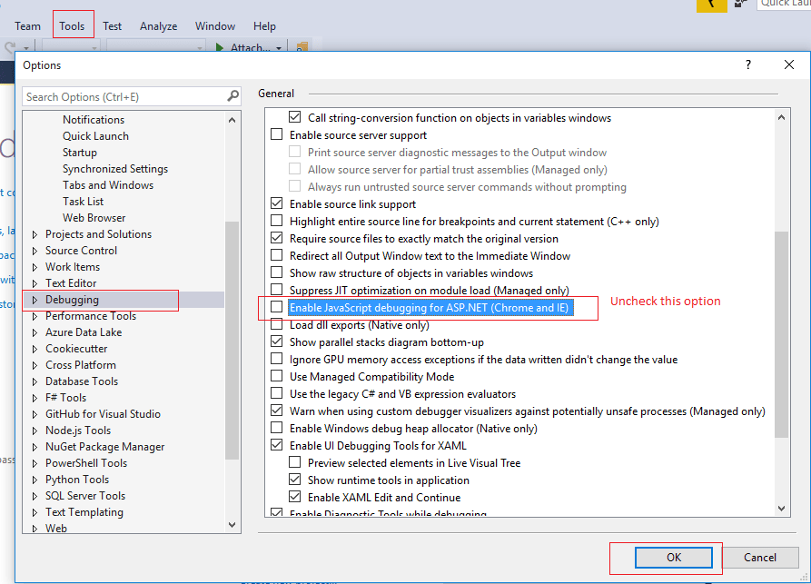 disable-the-new-debug-window-in-VS2017-min.png