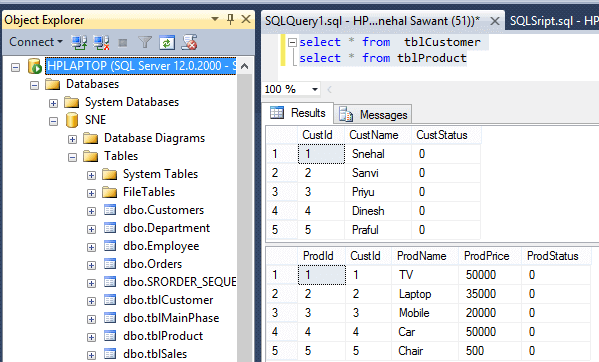 CRUD Operations in ASP.NET MVC using Inline Edit/Delete (With Validations)