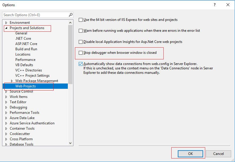 uncheck-stop-debugger-when-browser-window-visual-studio