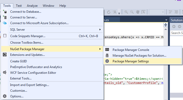 Nuget-Package-Manager-Visual-Studio