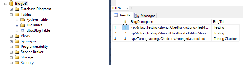ASP NET - How to use Rich text editor (CKEditor) in MVC - QA