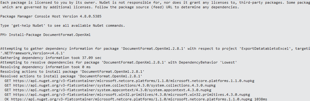 nuget-package-manager-console-install-openxml-for-export-to-excel-min.png