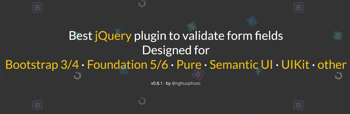jQuery - Top jQuery Form Validation plugins to implement client-side